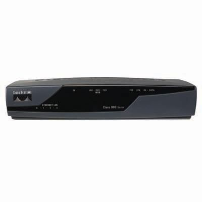 Cisco 881 Ethernet Wireless Router 802.11n FCC Compliant ...